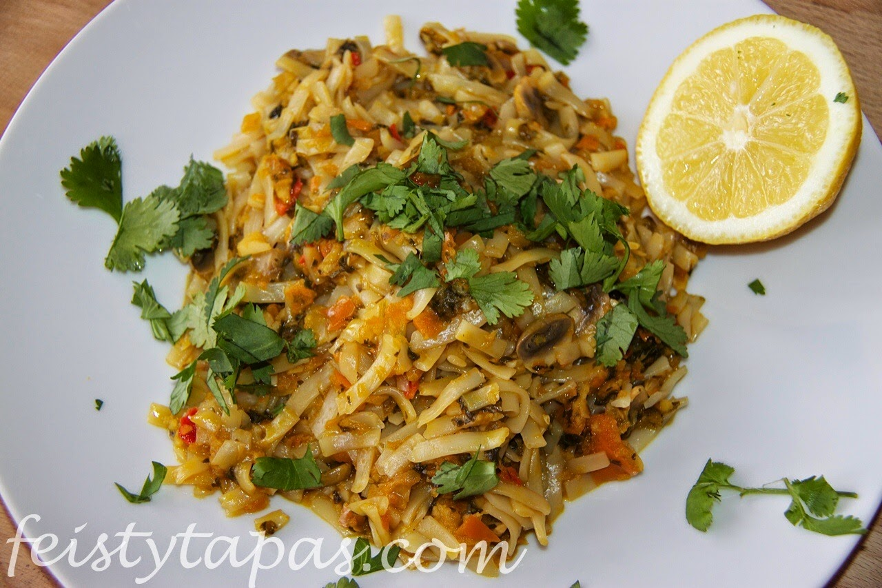 Thermomix noodle stir-fry recipe