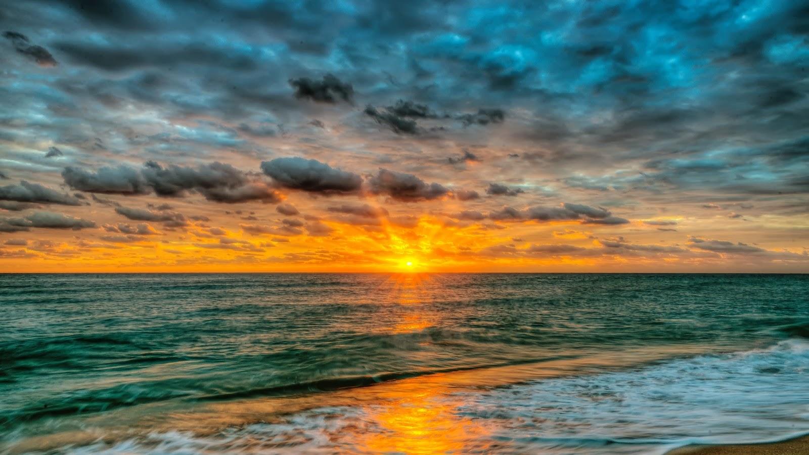 أجمل خلفيات مناظر طبيعية لشروق الشمس 2014