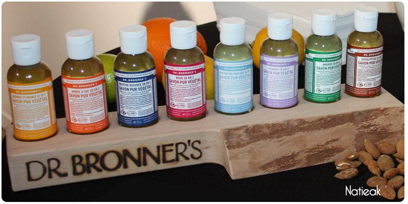 savon pur végétal de Dr Bronner's All-One