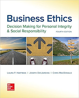 Business Ethics: Decision Making for Personal Integrity & Social Responsibility Edition 4e Hartman Test Bank 1