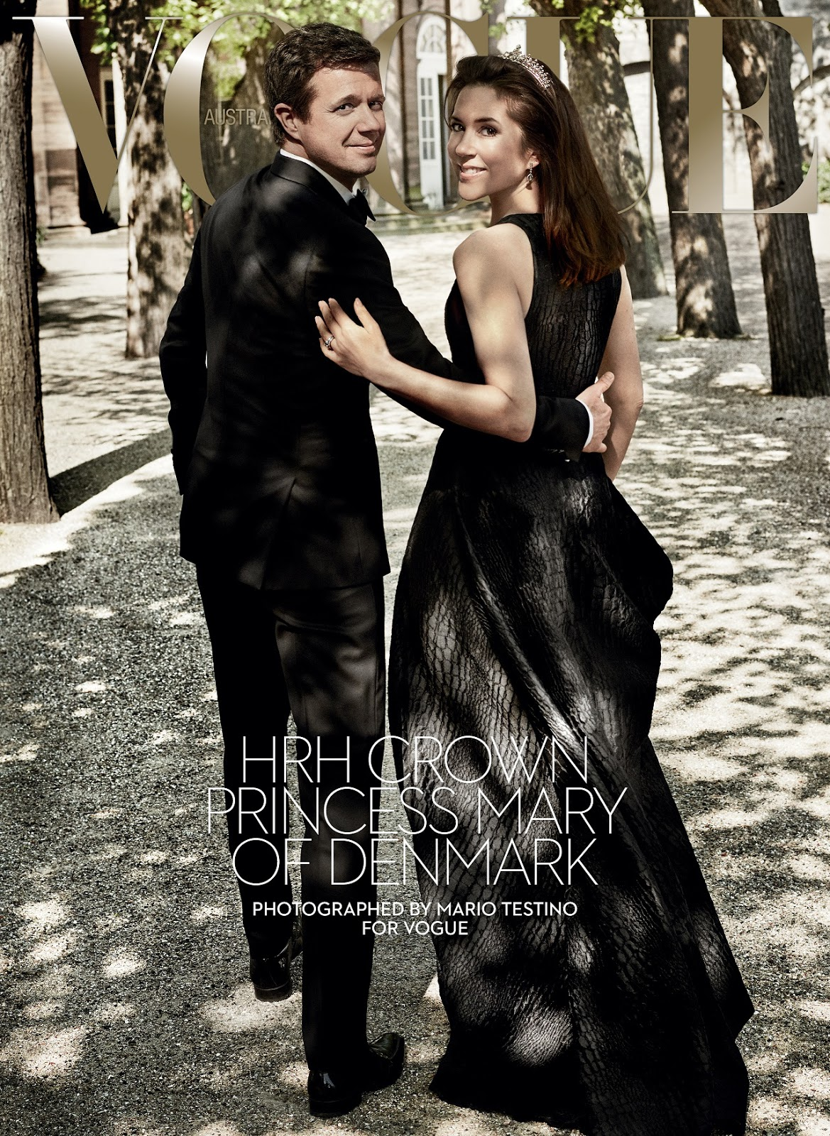 HRH Crown Princess Mary of Denmark covers Vogue Australia August 2016