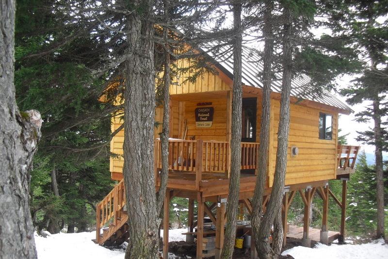 Ah, Ah Alaska: Winter cabin camping