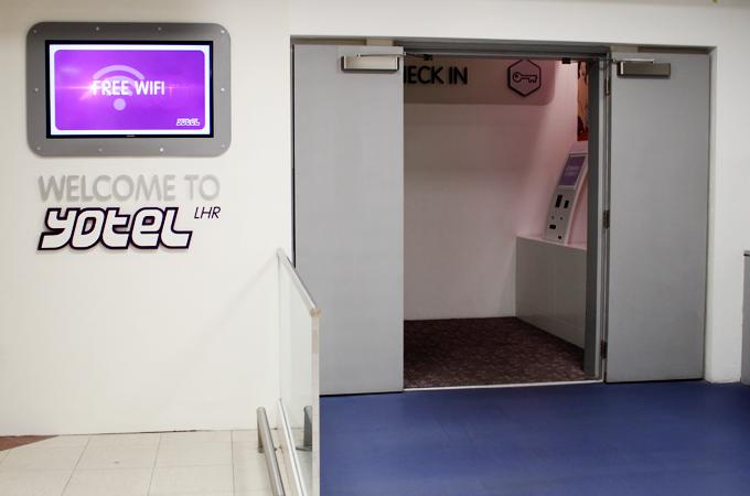 Yotel Heathrow Airport - The Wayfarer