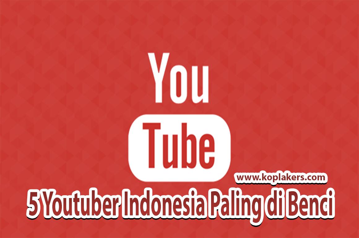 daftar youtuber paling dibenci di indonesia