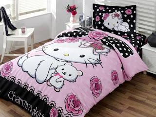 Hello Kitty Little Friend Charmy Tek Kişilik Nevresim Takımı