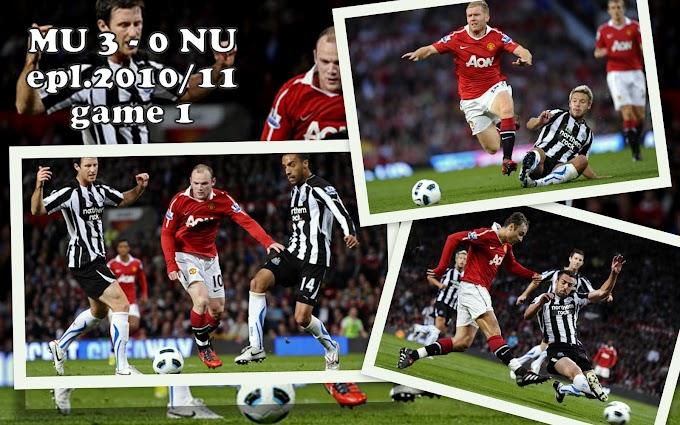 Manchester United 3 - 0 Newcastle United