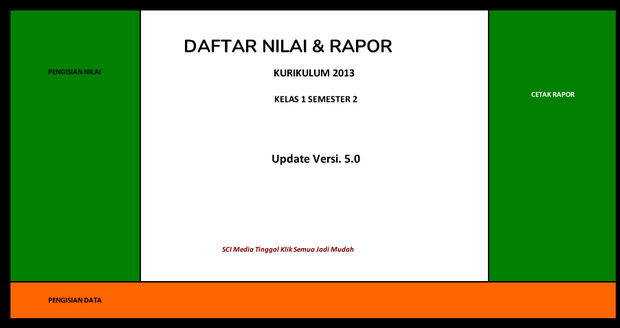 3 Aplikasi Cetak Raport MI Kurikulum 2013 dengan Panduan Lengkapi.