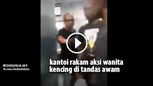 Video: Lelaki Kantoi Rakam Aksi Wanita Kencing di Langkawi