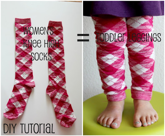 DIY Toddler Leggings - Just Between Friends