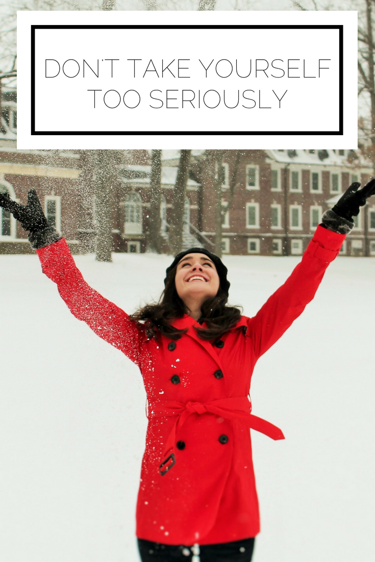 Click to read now or pin to save for later! Do you find yourself feeling too serious? Here's how to have some fun in your everyday life and not take things too seriously