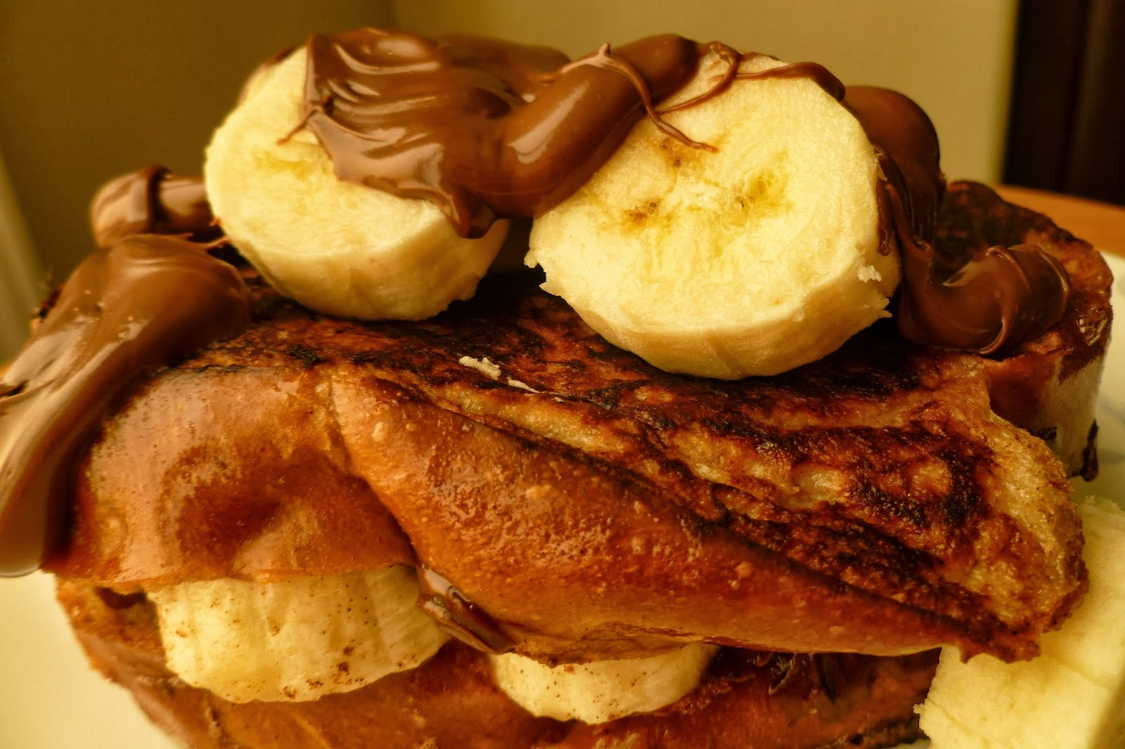 The Pastry Chef's Baking: Banana and Nutella Stuffed ...