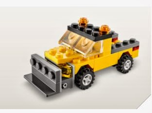 FREE LEGO® Mini Snowplow...