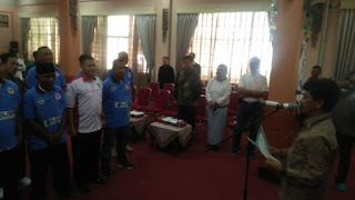 Edi Suripno Dikukuhkan Sebagai Ketua PSSI Kota Cirebon Dan Badan Liga Sepak Bola Pelajar Indonesia (BLSPI) Kota Cirebon