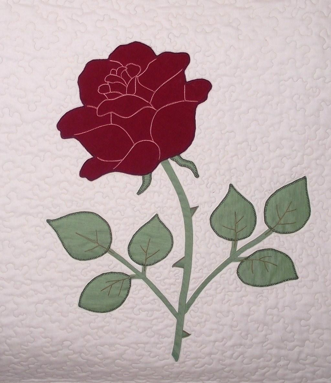 Lizzie Lenard Vintage Sewing Jubilee Rose Appliqu 233 Pattern