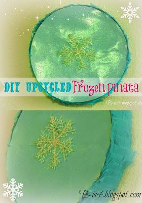 DIY Upcycled Frozen Pinata