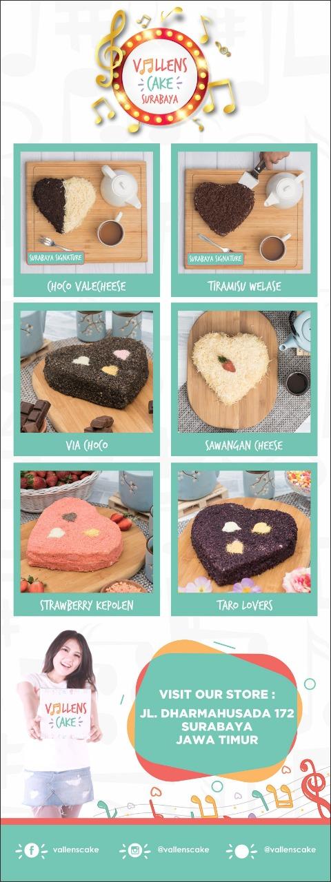 Desain Banner - Vallens Cake