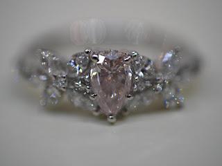 ピンクダイヤモンドをお買い取り致しました 無料でダイヤモンドを査定致します