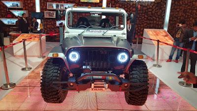 Mahindra Thar Daybreak Edition auto expo