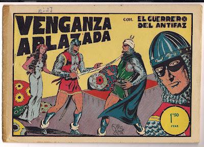 historia del tebeo valenciano venganza aplazada