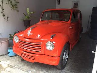 Fiat 500 Topolino Belveder 2 pintu