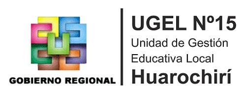 UGEL 15 - Huarochirí