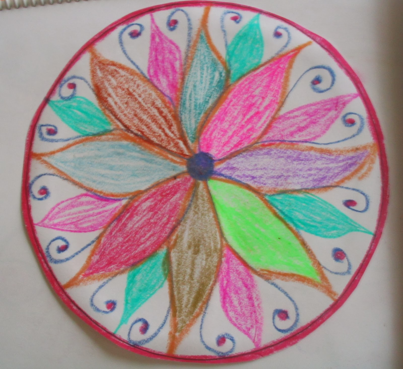 ateliers de journal creatif  comment cr u00e9er et interpr u00e9ter son propre mandala