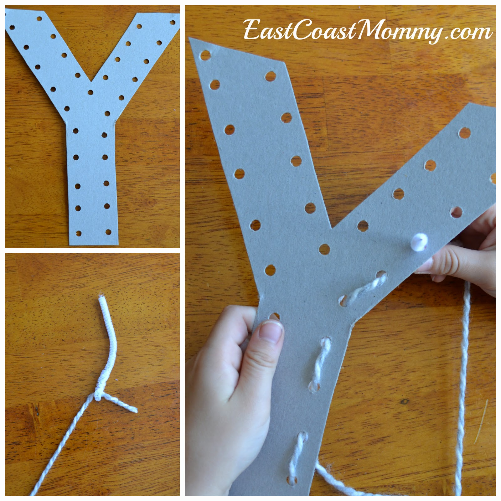 East Coast Mommy: Alphabet Crafts - Letter Y