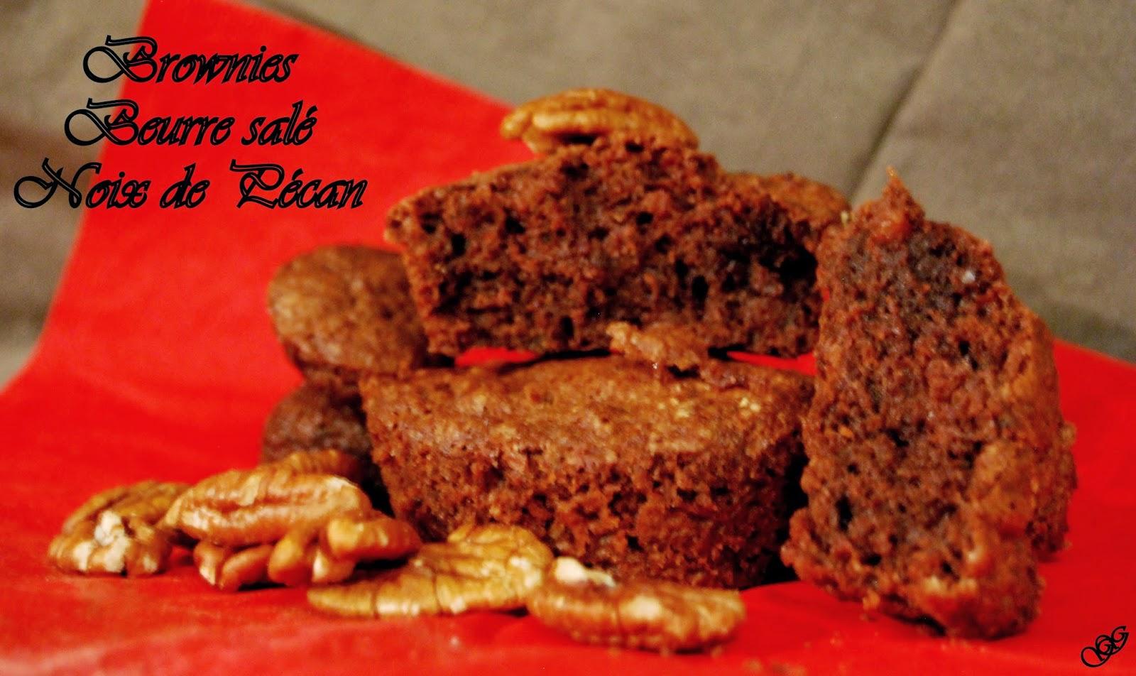 Brownie Beurre salé Noix de Pécan