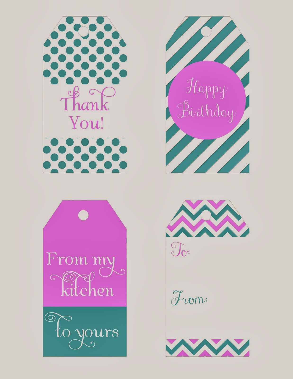 graphic relating to Printable Hang Tags identified as Pamela Renee Patterns: Cost-free Printable: Reward Cling Tags
