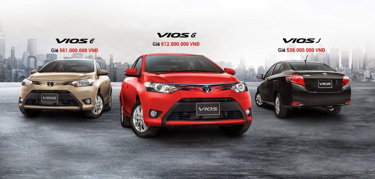 Đánh giá xe Toyota Vios G 2016 và Giá bán