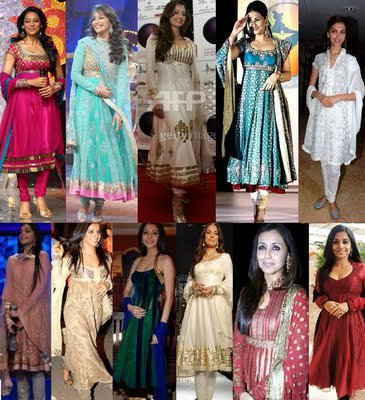 Bollywood Stars in Salwar Kameez