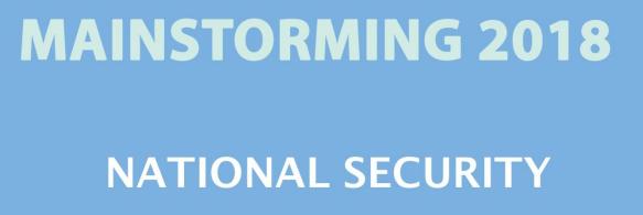National Security Pdf Download - VISION