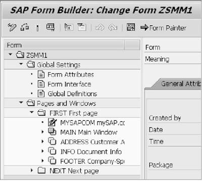 SAP ABAP - Smart Forms