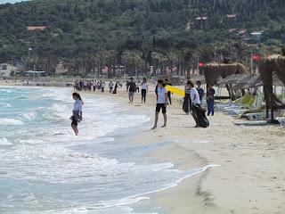 The amazing Aegean Coastline includes Ilıca Beach as well