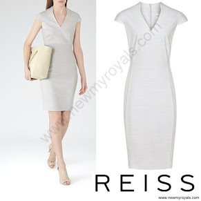 Princess Sofia Style Reiss valentina dress and KURT GEIGER Pumps