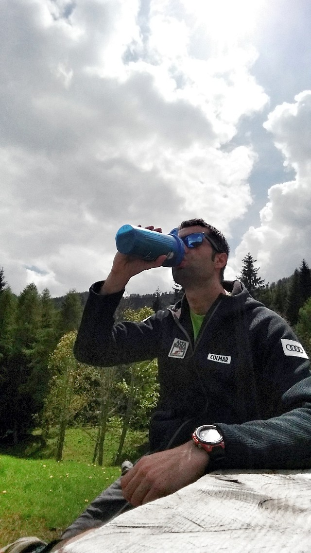 cibo trekking montagna