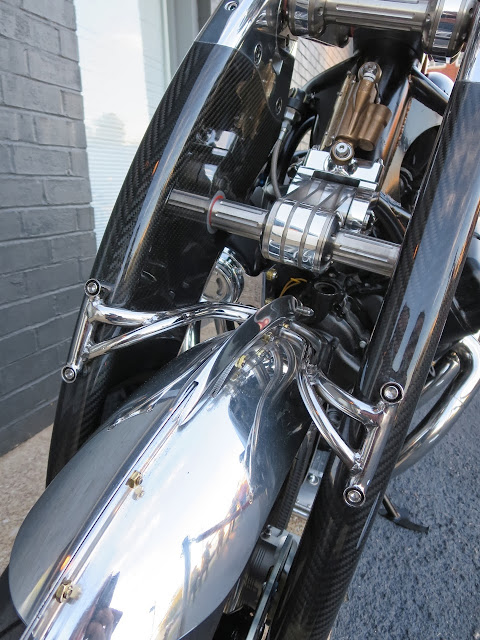 Bienville Legacy Motorcycle front suspension