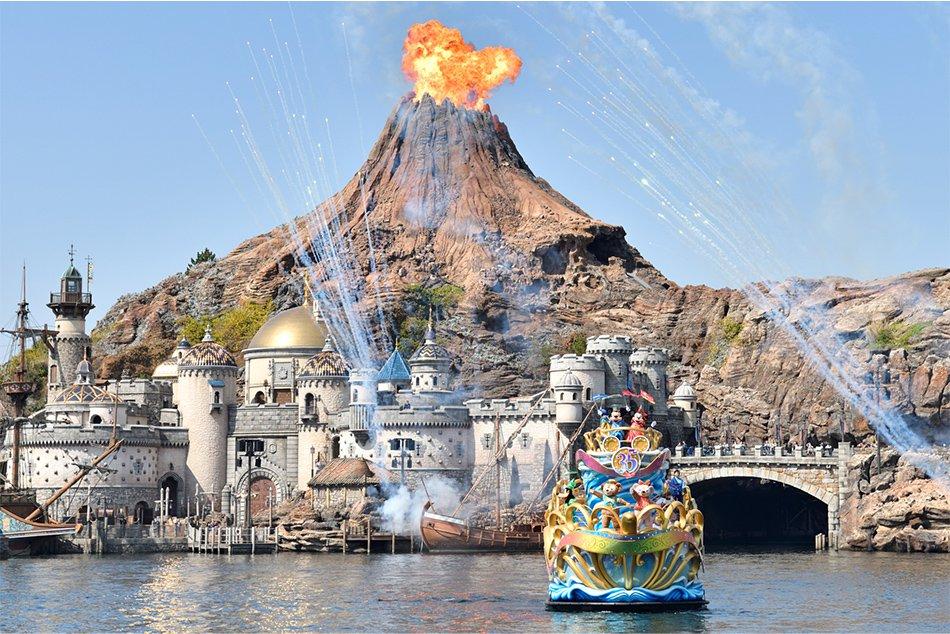 Tiket Disneysea Tokyo