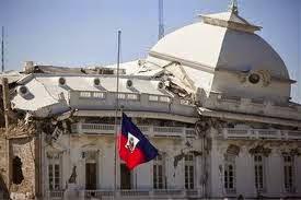 palais national d'Haiti effondré