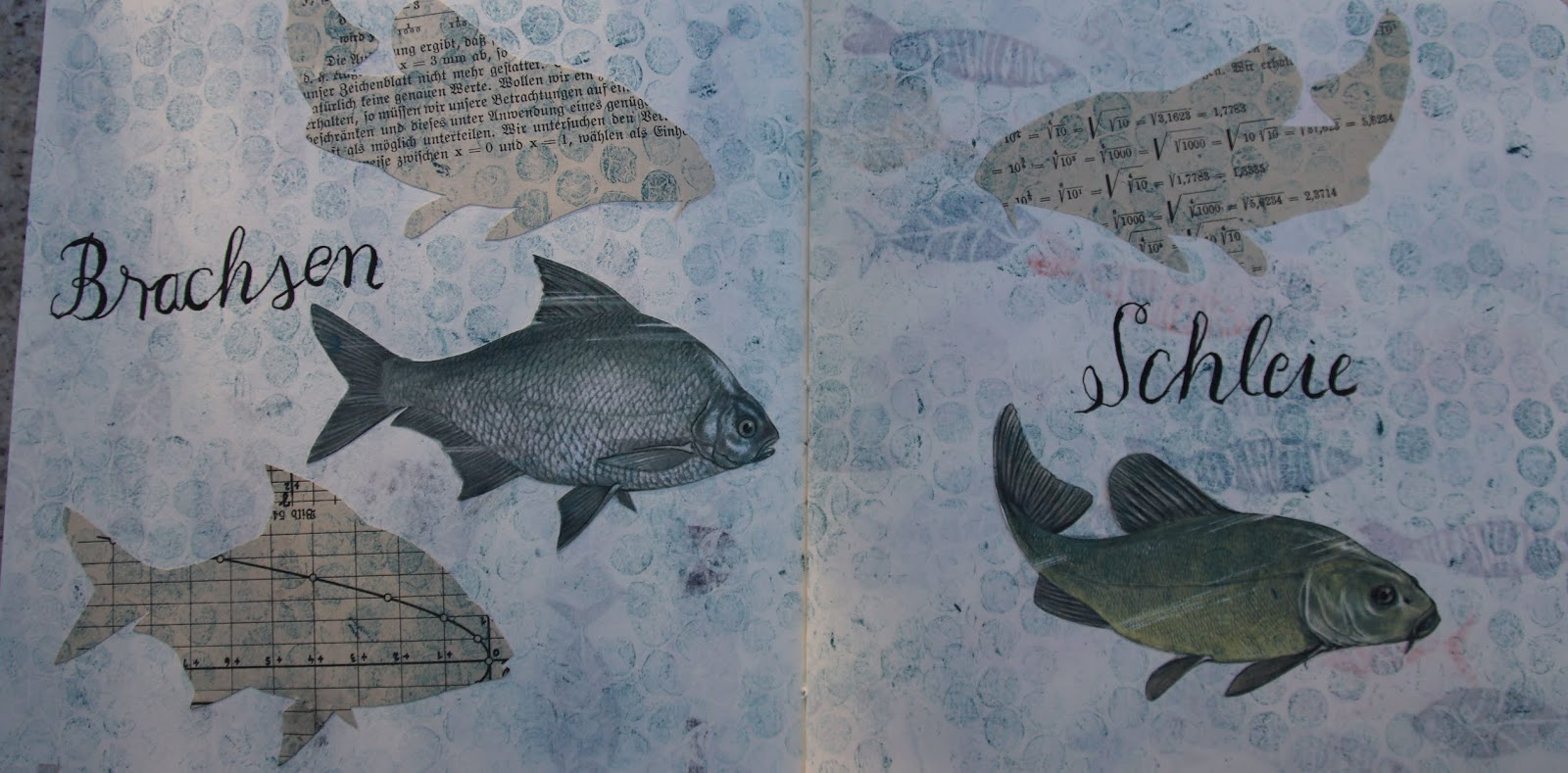 Kunstnadel Fisch Am Mittwoch