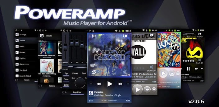 Download Poweramp Music Player (full) via Google Play Store