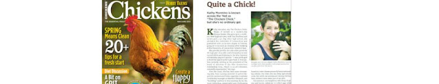 Magazine Features, The Chicken Chick®