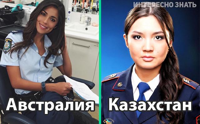 Как выглядят самые красивые девушки-полицейские в 22 странах мира