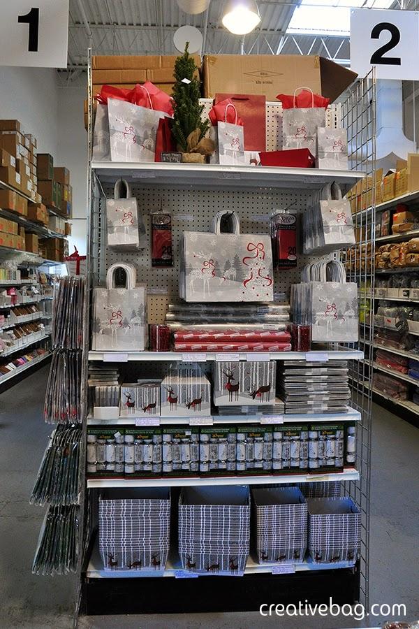 Rose Snowflake Reindeer collection | creativebag.com