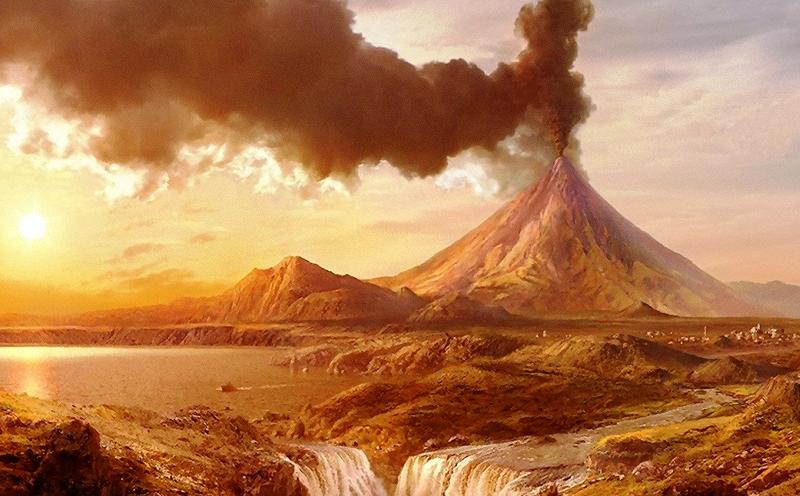 Krakatoa Volcanic Eruption - Engineering Channel