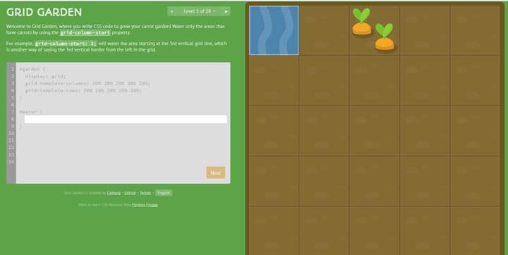 Pratique des bases Grilles CSS en jouant