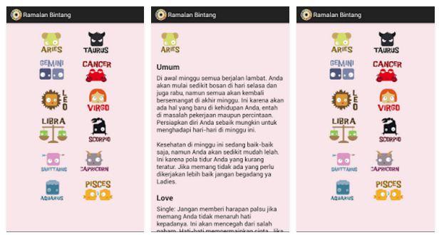 Cek Ramalan Zodiak Anda Menggunakan Aplikasi Zodiak Di Android