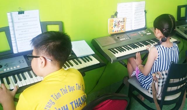 Lớp học đàn organ tại quận 9 HCM