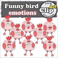 https://www.teacherspayteachers.com/Product/Bird-Emotions-Clipart-2535489