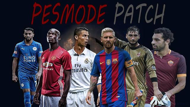 Patch PES 2017 Terbaru dari PESMODE